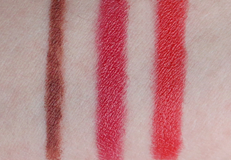 Sothys Contour Lip Pencil 10 Teinte Universelle Lip Crayon 10 Fuchsia Fauve 20 Rouge Orange Swatches