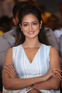 Shanvi Looks super cute in Small Mini Dress at IIFA Utsavam Awards press meet 27th March 2017 63.JPG