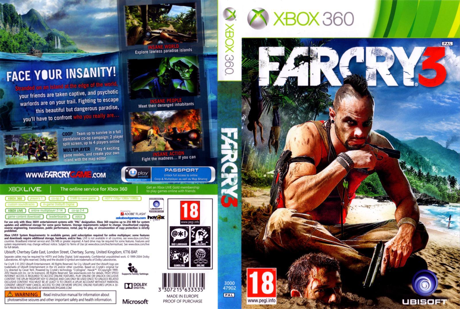 COVER'S AKI: FAR CRY 3 - XBOX360