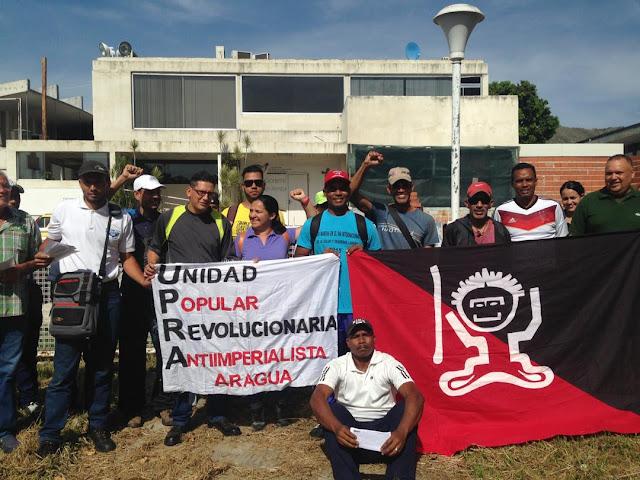 En Aragua: La UPRA se moviliza contra la burguesia y el Imperialismo