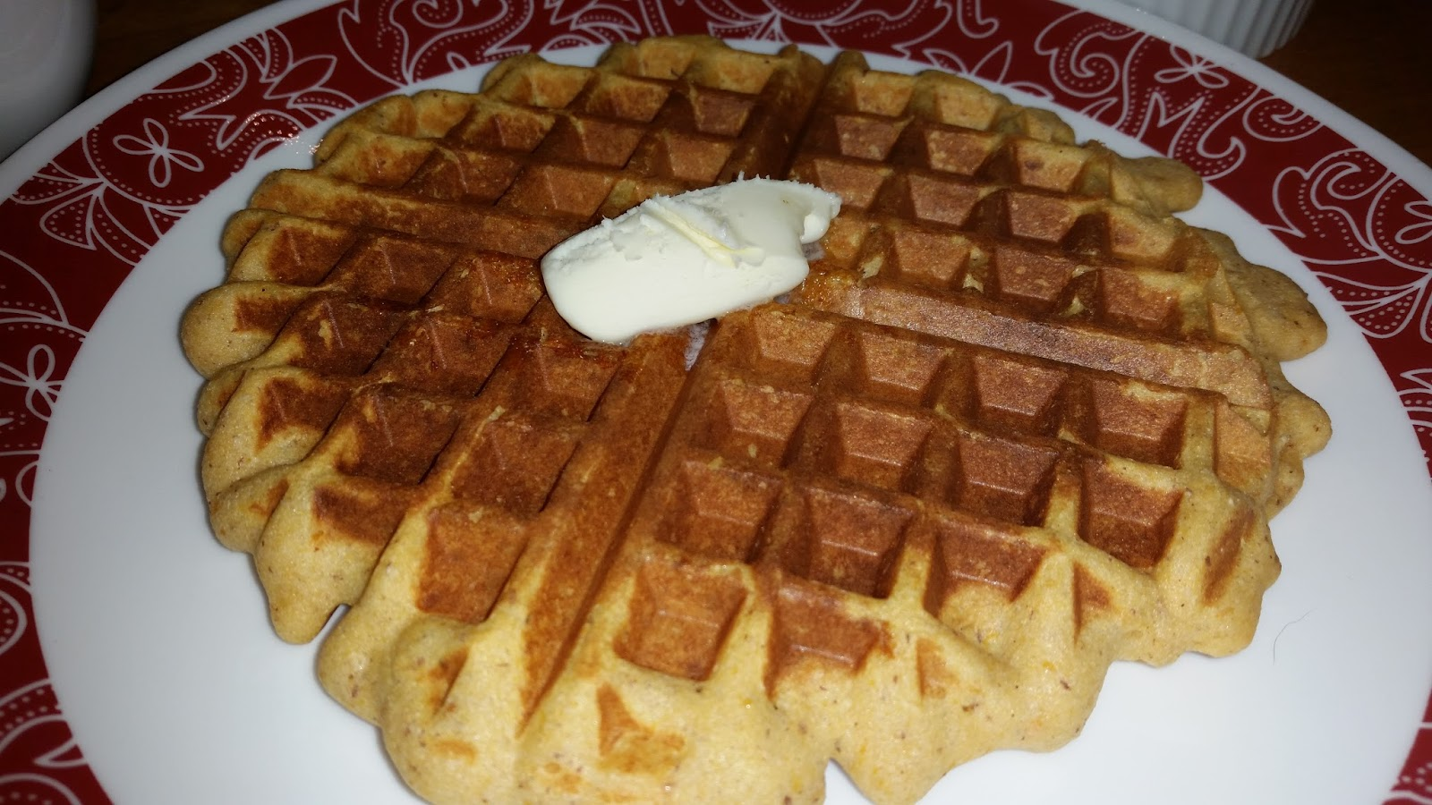 Gluten Free Sweet Potato Waffles (makes 4 waffles)