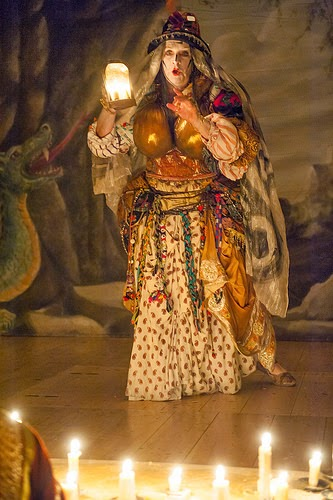 Harry Nicoll as Eryka in Cavalli's L'Ormindo at the Globe Theatre © Stephen Cummiskey