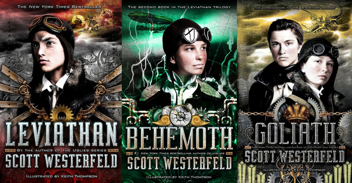 The Leviathan Trilogy By Scott Westerfeld, Illustrated By ...