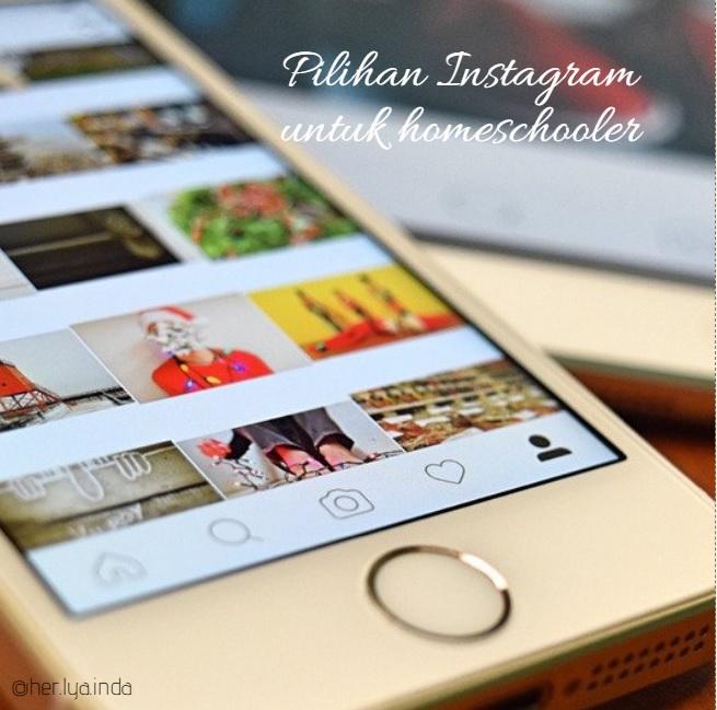 Pilihan Instagram untuk Homeschooler