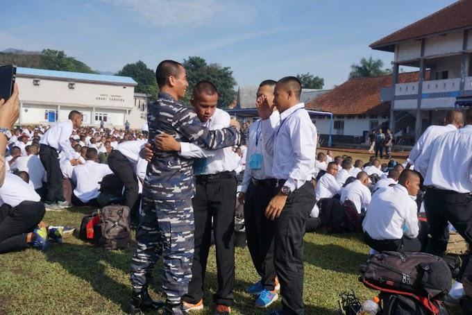 Sebanyak 800 Calon Siswa Dinyatakan Lulus Seleksi Calon Tamtama TNI AL 2019 Gelombang I