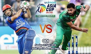 Afg vs Ban live cricket score
