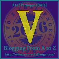 V is for: Volunteer - A Wandering Vine #AtoZChallenge