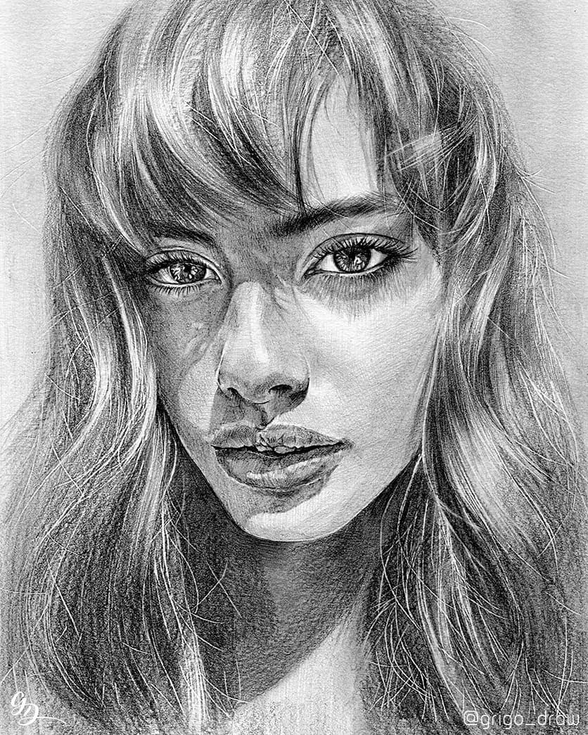 13-Grigo-Draw-Black-and-White-Realistic-Pencil-Portrait-Drawings-www-designstack-co
