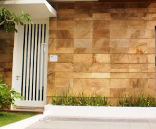 Keramik Batu Alam Untuk Dinding Rumah Batu Alam Cirebon