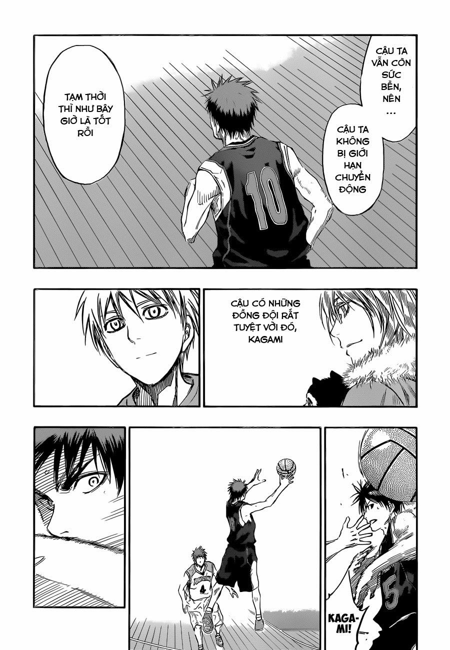 Kuroko No Basket chap 235 trang 14