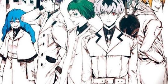 Tokyo Ghoul:re, Manga, Actu Manga, Weekly Young Jump, Sui Ishida, Shueisha,
