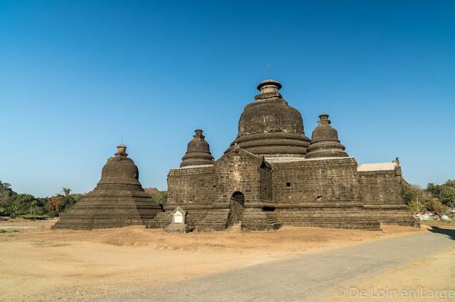 Temple Lemyethna - Mrauk-U - Myanmar Birmanie