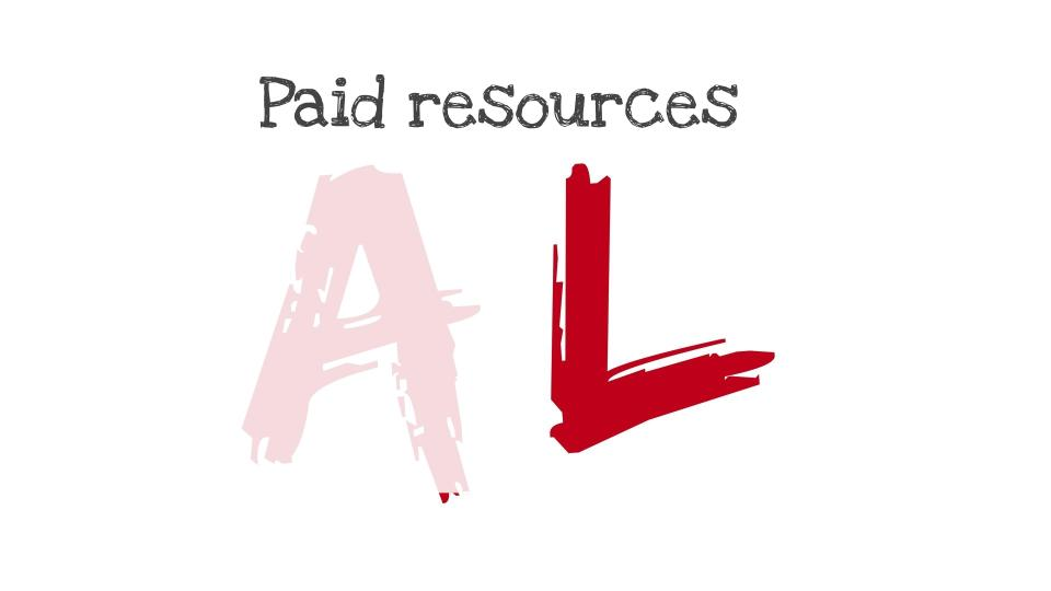 Paid Resources