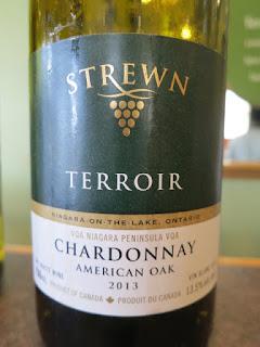 Strewn Terroir Chardonnay American Oak 2013 - VQA Niagara Peninsula, Ontario, Canada (90 pts)