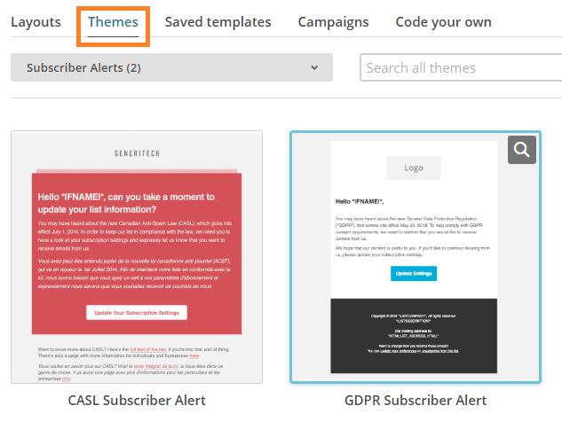 mailchimp-gdpr-theme