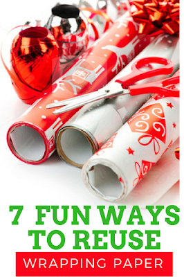 7 Fun Ways to Upcycle Used  Holiday Wrapping Paper