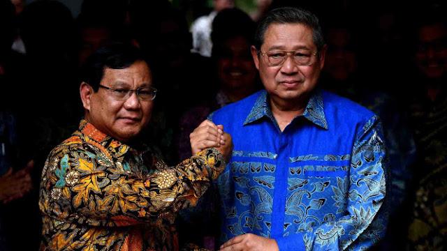 Elite Demokrat: SBY-Prabowo Bersatu, Jokowi Selesai 1 Periode