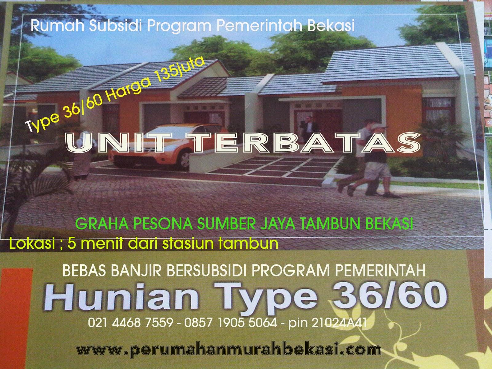 Image Result For Program Pemerintah Jual Rumah Subsidi Bekasi