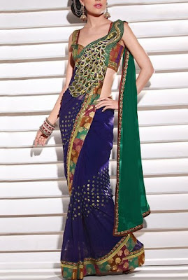 look tall in saree