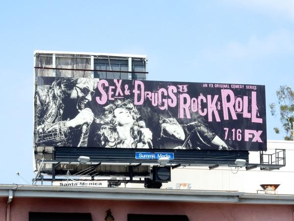 Sex Drugs Rock Roll billboard