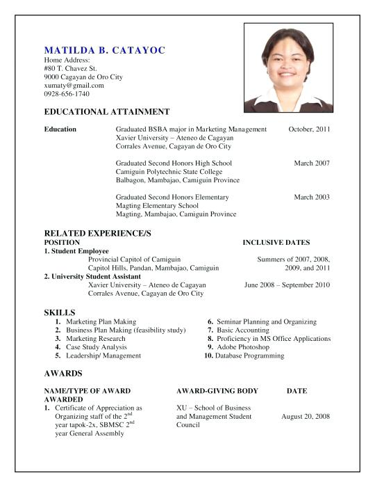 How to Make A Resume 2019 - Lebenslauf Vorlage Site
