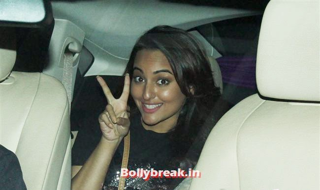 Sonakshi Sinha, Alia Bhatt, Sonakshi Sinha at Special Screening of 2 States