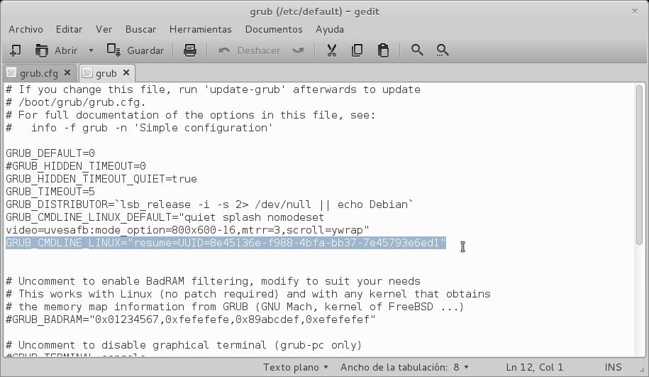 Grub no resume - PCLinuxOS Magazine - HTML - pclosmag com  GRUB