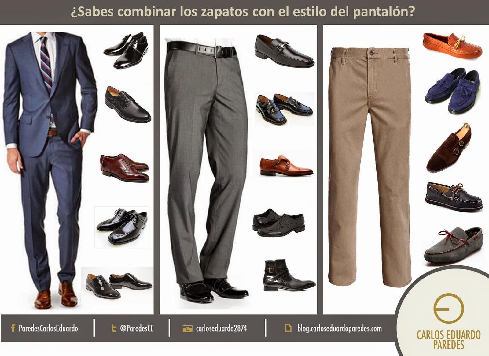 34cc9a8e9b1c1 Sabes combinar los zapatos con el estilo de pantalón