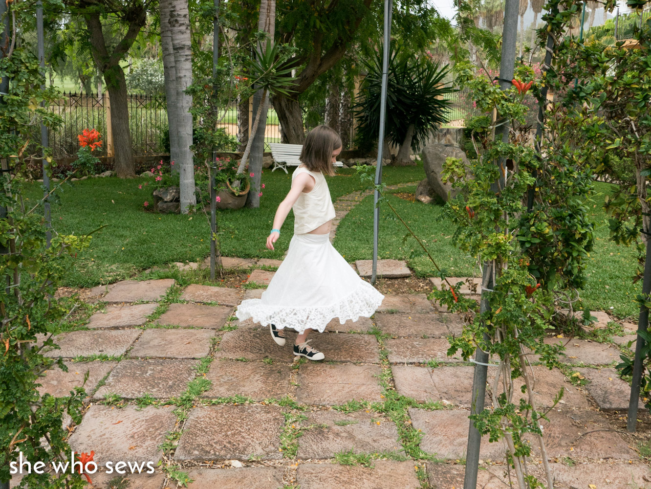 Sewing A Wedding Outfit For A 7 Year Old She Who Sews