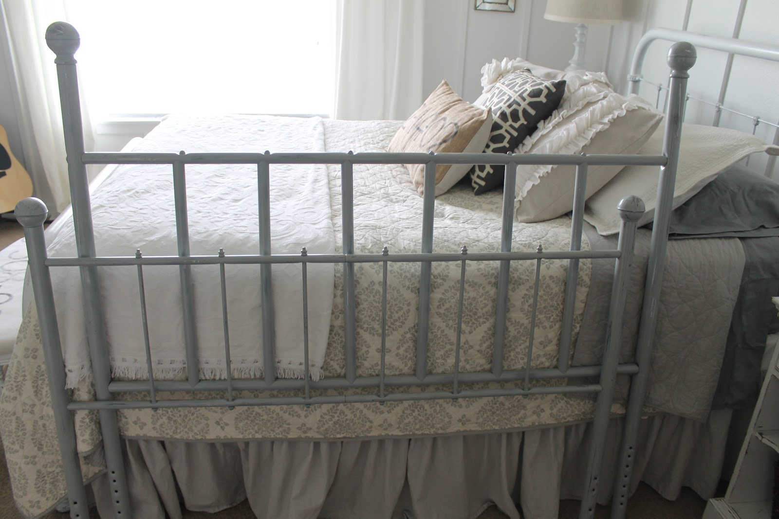 Whimsical Treasures Full Size Metal Bed Frame