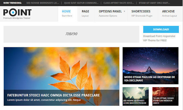 Point Premium Wordpress Theme Free Download