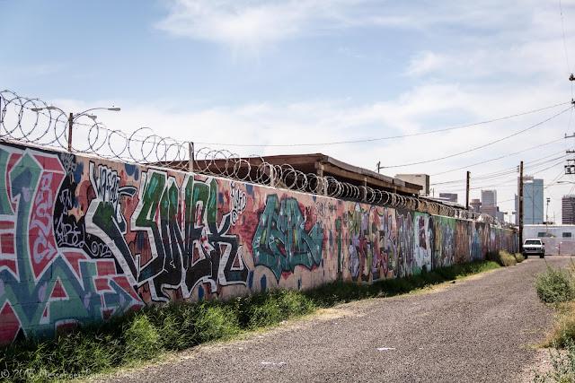 Phoenix Alley graffitti