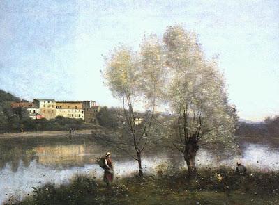 Corot - ville d'Avray 1867