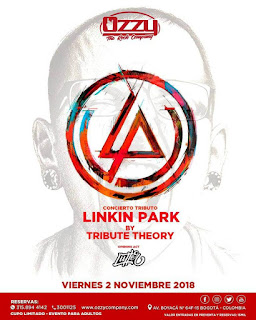 POSTER Concierto tributo LINKIN PARK en Bogotá