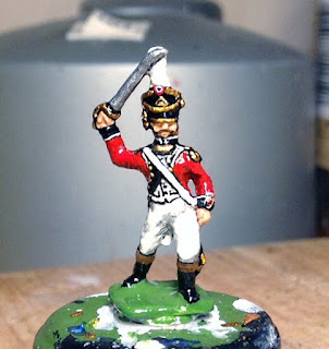 Der Kriegspielers DK 7: French Line Infantry Command, Officer. Charging