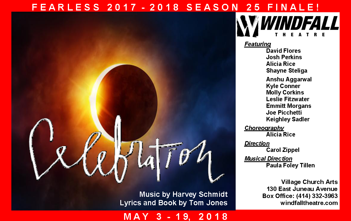 Windfall Theatre: CELEBRATION