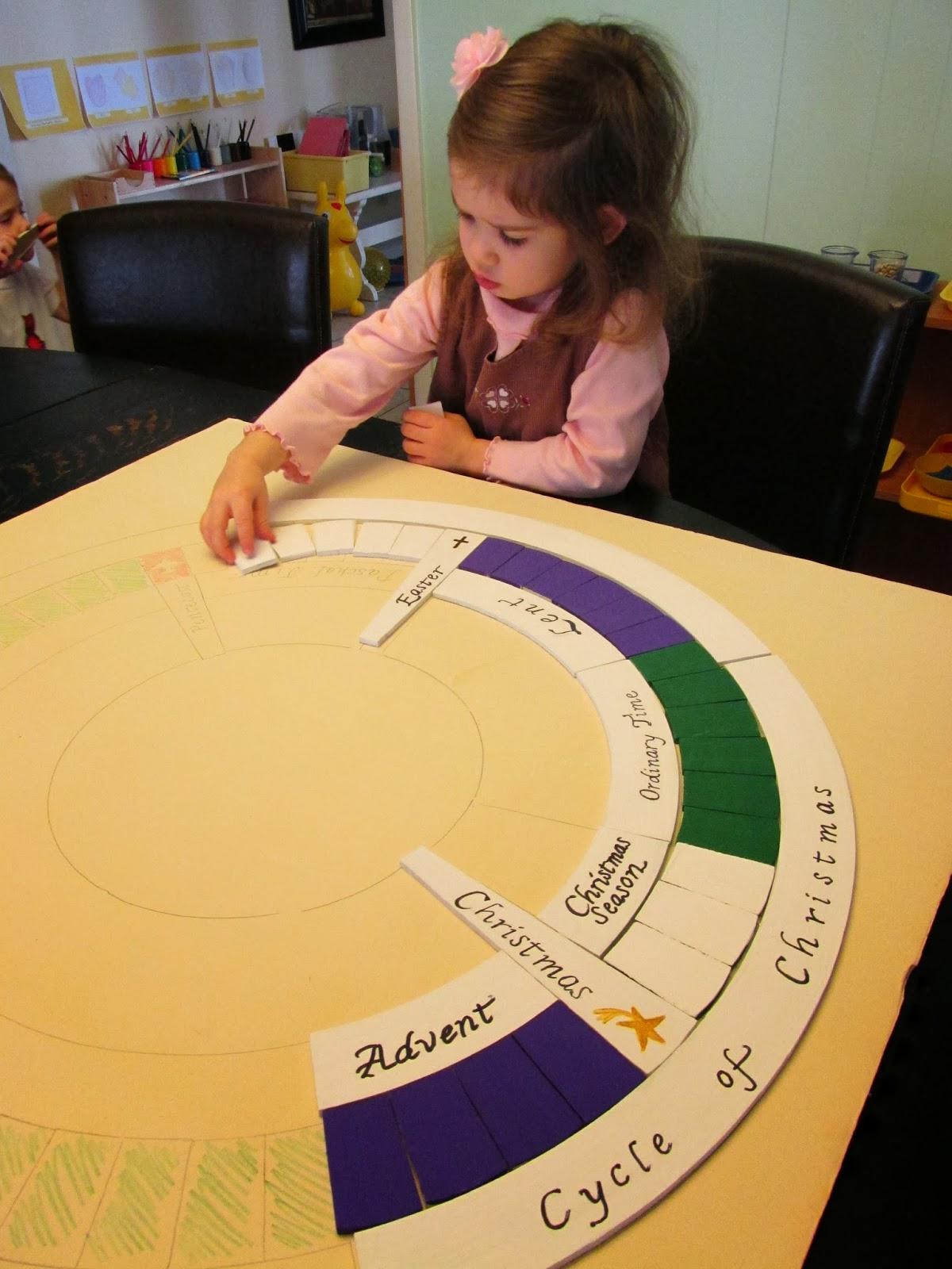 Montessori Messy The Liturgical Calendar Or The Church S