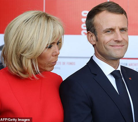 Wife of French President says she's fed up and he is too arrogant