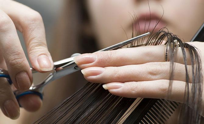 cortar o cabelo - clikaki