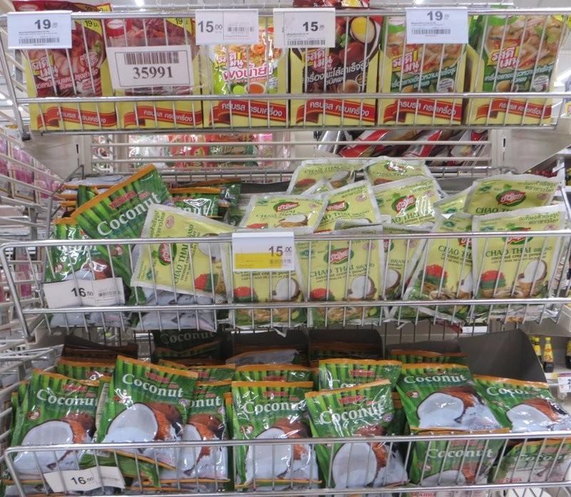 Приправы и кокосовый порошок Таиланд