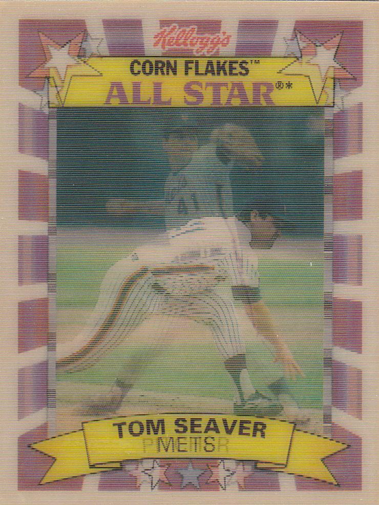 The Baseball Card Blog Hologram Card Sponsored By Cereal