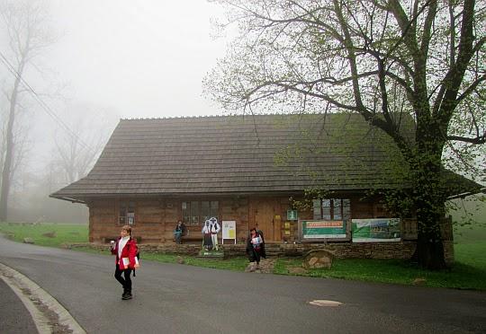 Góralskie Centrum Informacji Turystycznej w Mostach koło Jabłonkowa (czes. Gorolské turistické informační centrum).