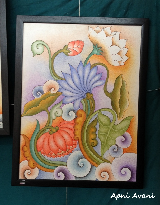 Flower Murals Paintings Gardening Flower And Vegetables