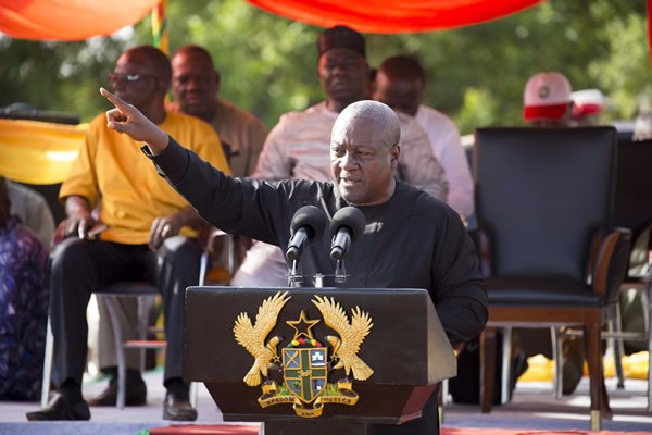 4 years not enough for any president- Mahama