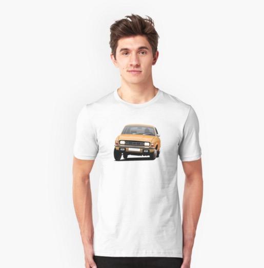 Austin Allegro Reddbubble printed t-shirt