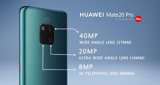 Huawei y Leica Colaboran para Crear una Impresionante Cámara Triple en un Móvil Inteligente