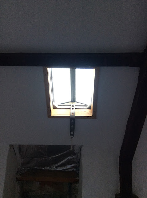 Renovation project - Recycled window frames