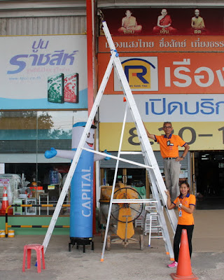 Thailand Heavy Duty Trestle Ladders Delivery