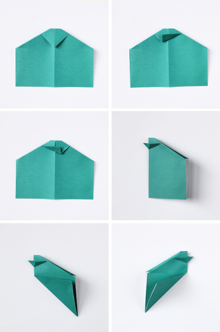 HOW TO FOLD ORIGAMI EASTER CHICK BASKETS.