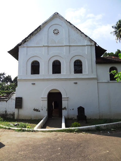 Muziris water tour - Chendamangalam Synagogue
